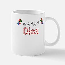 Diez, Christmas Mug