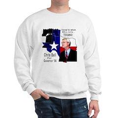 Chris Bell, TX GOV Sweatshirt
