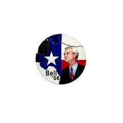Chris Bell, TX GOV Mini Button