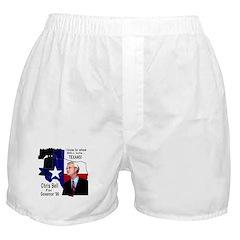 Chris Bell, TX GOV Boxer Shorts