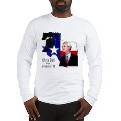 ChrisBell, TX GOV Long Sleeve T-Shirt