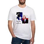 ChrisBell, TX GOV Fitted T-Shirt