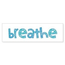 Tribal Breathe (Red or Blue) Bumper Sticker