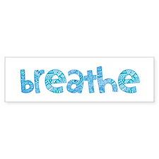 Tribal Breathe (Red or Blue) Car Sticker