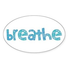Tribal Breathe (Red or Blue) Decal