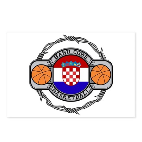 Croatia Basketball Postcards (Package of 8)