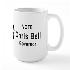 Chris Bell for Governor Mug