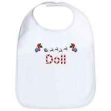 Doll, Christmas Bib