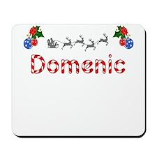 Domenic, Christmas Mousepad