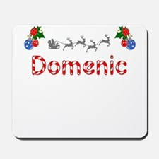 Domenic, Christmas Mousepad