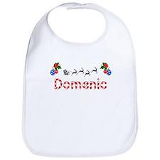Domenic, Christmas Bib