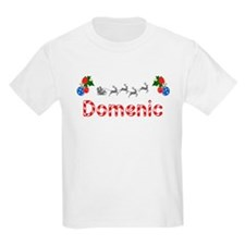Domenic, Christmas T-Shirt