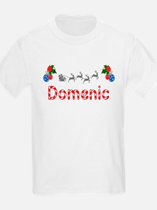 Domenic, Christmas T-Shirt