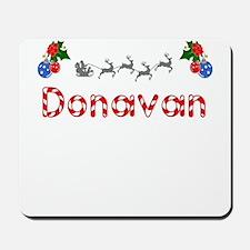 Donavan, Christmas Mousepad