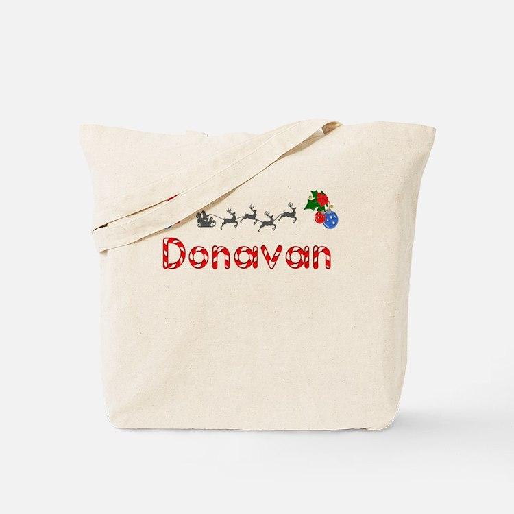 Donavan, Christmas Tote Bag