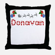 Donavan, Christmas Throw Pillow