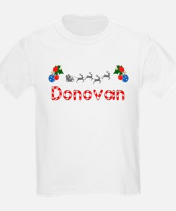 Donovan, Christmas T-Shirt