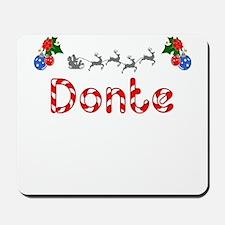 Donte, Christmas Mousepad