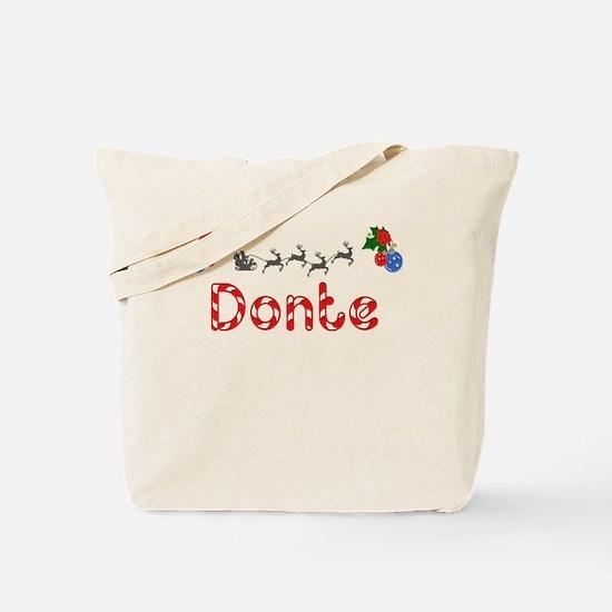 Donte, Christmas Tote Bag