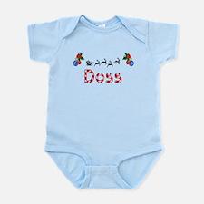 Doss, Christmas Infant Bodysuit