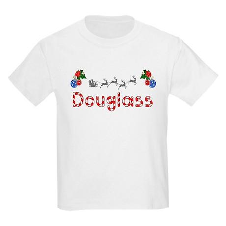 Douglass, Christmas Kids Light T-Shirt