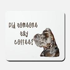 Did someone say coffee? Mousepad