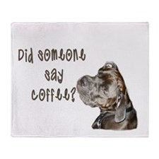 Did someone say coffee? Throw Blanket