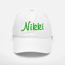 Nikki Glitter Gel Baseball Baseball Cap