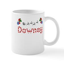 Downey, Christmas Mug