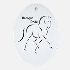Baroque Pride Ornament (Oval)