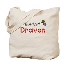 Draven, Christmas Tote Bag