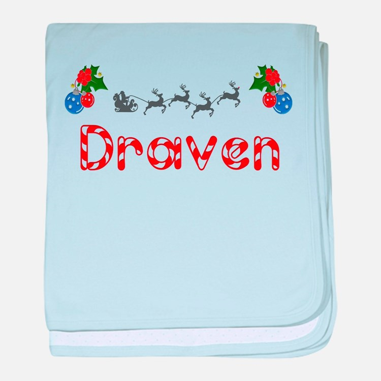 Draven, Christmas baby blanket