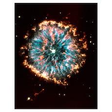 Planetary nebula Poster