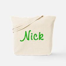 Nick Glitter Gel Tote Bag