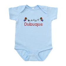 Dubuque, Christmas Infant Bodysuit