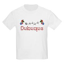 Dubuque, Christmas T-Shirt