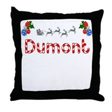 Dumont, Christmas Throw Pillow