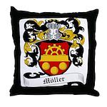 Möller Coat of Arms Throw Pillow