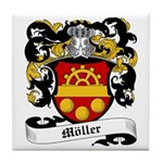 Möller Coat of Arms Tile Coaster