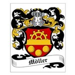 Möller Coat of Arms Small Poster
