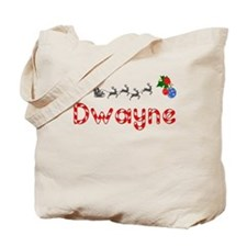 Dwayne, Christmas Tote Bag