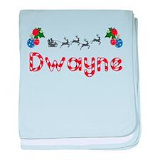 Dwayne, Christmas baby blanket