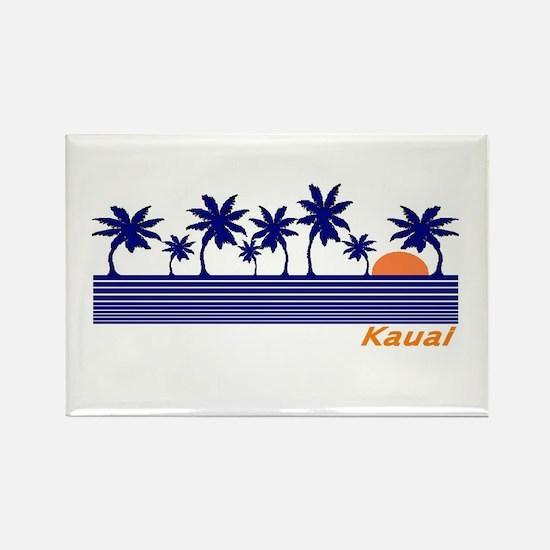 Cute Kauai Rectangle Magnet