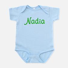Nadia Glitter Gel Infant Bodysuit
