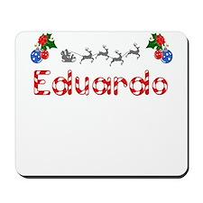 Eduardo, Christmas Mousepad