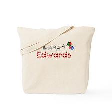Edwards, Christmas Tote Bag
