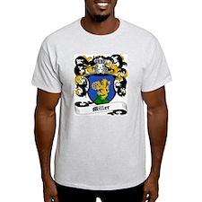 Miller Coat of Arms Ash Grey T-Shirt