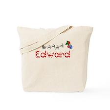 Edward, Christmas Tote Bag