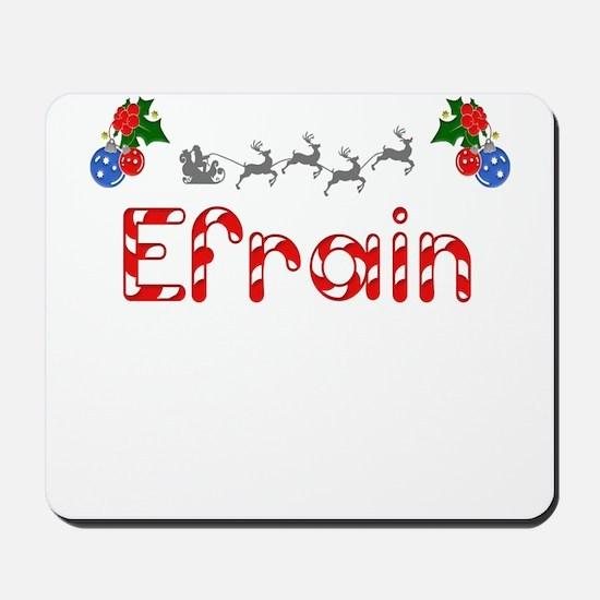 Efrain, Christmas Mousepad