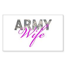 ACU Army Wife Decal